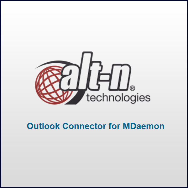 Alt-N Technologies Outlook Connector for MDaemon